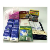 MPP33-SANI 55-piece Emergency Sanitation Kit for Portable Honey Bucket Toilet from Sunset Survival and First Aid, Disaster Preparedness, Survival Kits