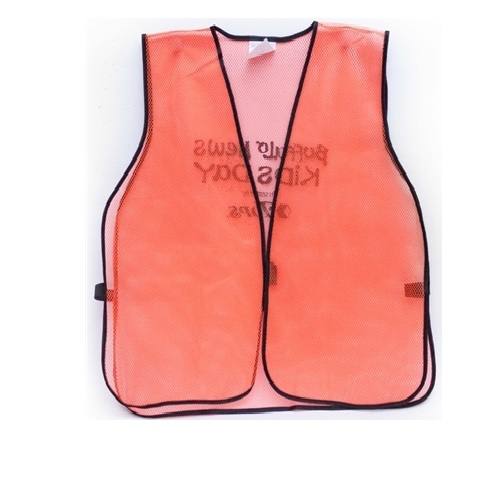 MSH55-AA Hi-Visibility Orange Safety Vest from Sunset Survival and First Aid, Emergency Kits, Survival Supplies, Disaster Preparedness