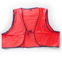 MSH55 Hi Visibility Orange Safety Vest from Sunset Survival and First Aid, Emergency Kits, School Lockdown, First Responder Supplies