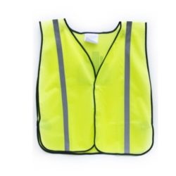 MSH55-MG-Y Yellow Mesh Safety Vest from Sunset Survival and First Aid, Emergency Kits, Safety Supplies, Disaster Preparedness