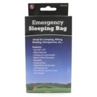 MSH77BG Emergency Sleeping Bag from Sunset Survival and First Aid, School Safety Supplies, Emergency Kits, Disaster Preparedness, Camping Supplies