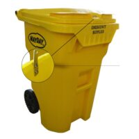 MST11-65 Rolling Storage Container Bin on Wheels from Sunset Survival and First Aid, Emergency Kits, Survival Supplies, Disaster Preparedness