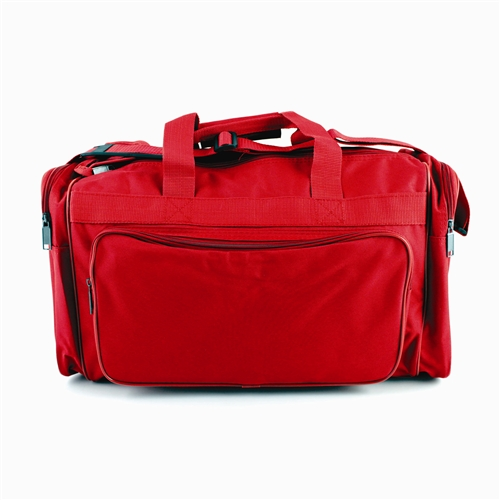 MST44B Deluxe Red Gear Bag Duffel from Sunset Survival and First Aid, Emergency Kits, Survival Supplies, Disaster Preparedness