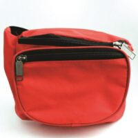 MST77-SM Red Fanny Pack from Sunset Survival and First Aid, Emergency Preparedness Kits, Survival Supplies