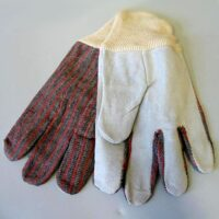 MT002 Leather-Palm Work Gloves from Sunset Survival and First Aid, Emergency Kits, Survival Supplies, Disaster Preparedness, Earthquake Kits