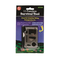 MT22ST 11-function Emergency Survival Tool from Sunset Survival and First Aid, Emergency Preparedness Kits, Survival Supplies
