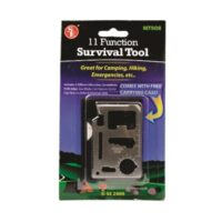 MT22ST 11-function Emergency Survival Pocket Tool from Sunset Survival and First Aid, Emergency Preparedness Kits, Survival Supplies