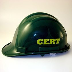 MT77CRT CERT Hard Hat from Sunset Survival and First Aid, Emergency Kits, C.E.R.T. Responder Supplies, Disaster Preparedness