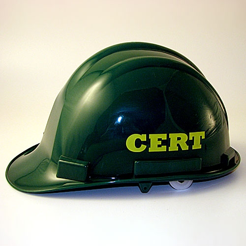 MT77CRT C.E.R.T. Hard Hat from Sunset Survival and First Aid, Emergency Kits, C.E.R.T. Responder Supplies, Disaster Preparedness