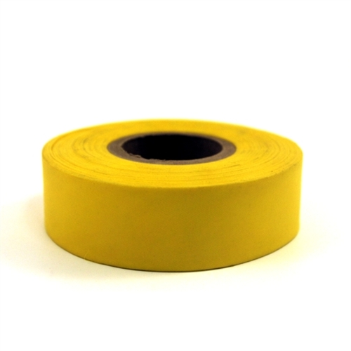 MTR-FLG-YL Triage Flagging Tape, non-adhesive yellow ribbon tape from Sunset Survival and First Aid, Emergency Responder Supplies, Survival Kits, Disaster Preparedness