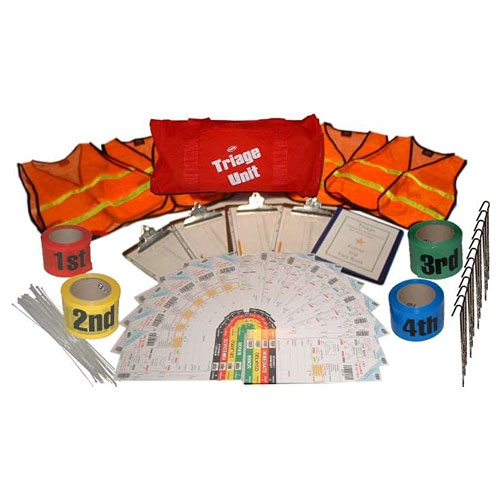 MTR01 Triage Kit for Emergency Response, from Sunset Survival and First Aid, Emergency Responder Supplies, Survival Kits, Disaster Preparedness