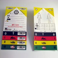 MTR02-50 Triage Tags, set of 50, from Sunset Survival and First Aid, Emergency Responder Supplies, Survival Kits, Disaster Preparedness