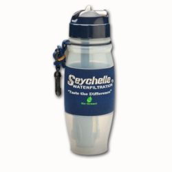 MWA22-SY2 Seychelle Water Filter Bottle from Sunset Survival and First Aid, Emergency Kits, Disaster Preparedness, Survival Supplies