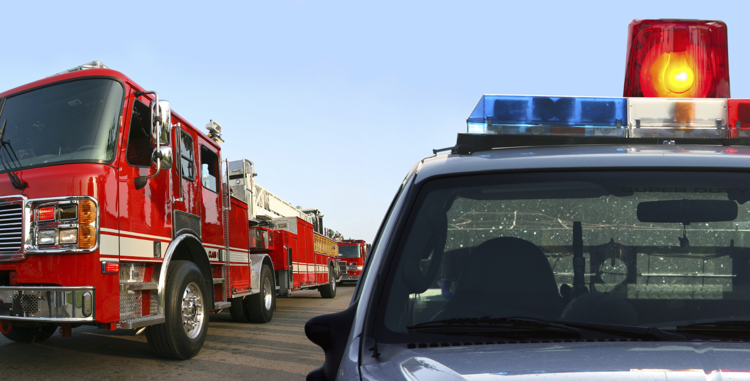 First Responders Emergency Vehicles Supplies