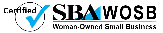 SBA-WOSB Logo for Sunset Survival and First Aid