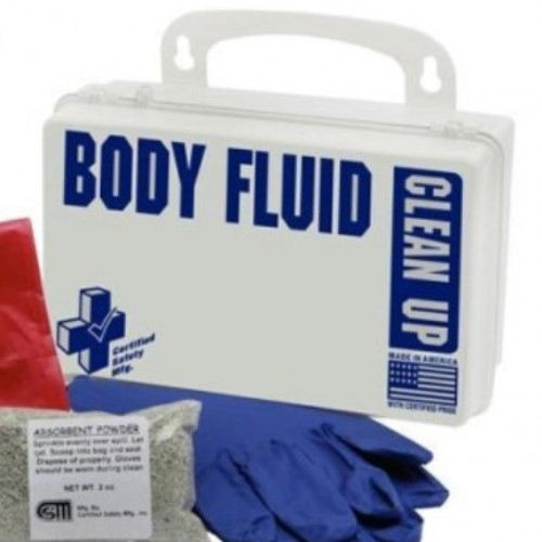Biohazard Body Fluids Clean Up Kit, Classroom Spill