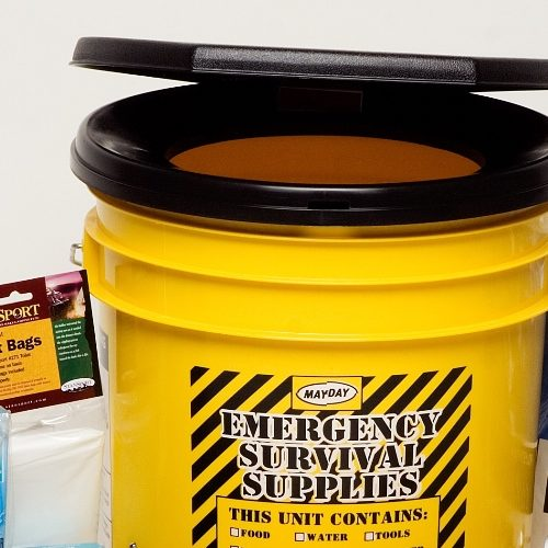 SS-PP33-COMPL Emergency Toilet and Sanitation Kit from Sunset Survival Emergency Kits, School Lockdown Kits, Survival Toilet Kits, Disaster Preparedness