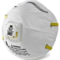 N95 Mask with Valve, 3M Respirator Safety Mask