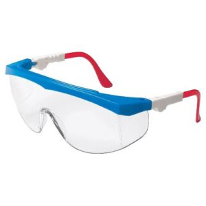 Safety Glasses Red White Blue Polycarbonate