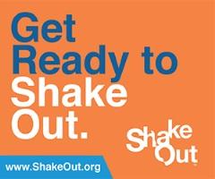 ShakeOut Earthquake Drill Sunset Survival Earthquake Kits